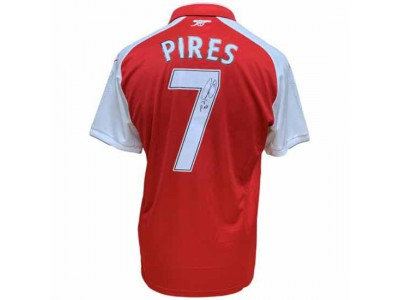 Arsenal FC Pires Signed Shirt