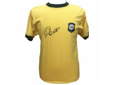 Brasil Pele Signed Shirt