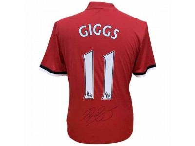 Manchester United FC Giggs Signed Shirt