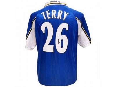 Chelsea FC Terry Signed Shirt