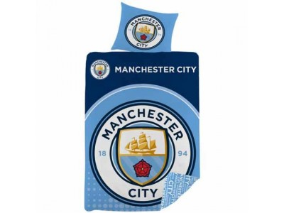 Manchester City FC Single Duvet Set LC