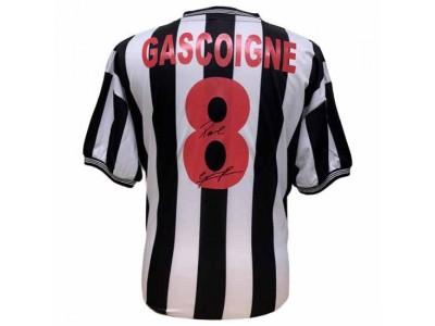 Newcastle United FC Gascoigne Signed Shirt