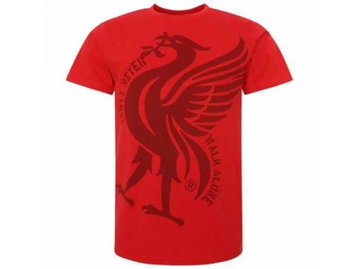Liverpool FC Liverbird T Shirt Mens Red M