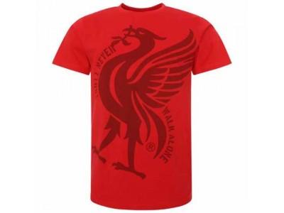Liverpool FC Liverbird T Shirt Mens Red XXL
