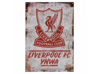 Liverpool FC YNWA Large Metal Sign
