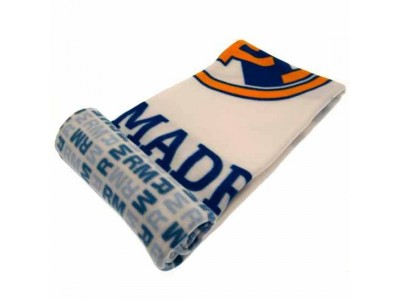 Real Madrid FC Fleece Blanket WT