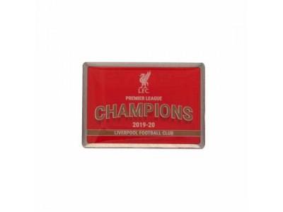 Liverpool FC Premier League Champions Badge