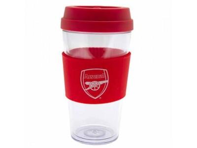 Arsenal FC Clear Grip Travel Mug