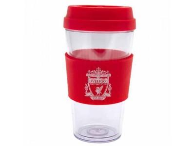 Liverpool FC Clear Grip Travel Mug CR