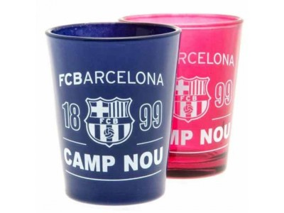 FC Barcelona 2 Pack Shot Glass Set
