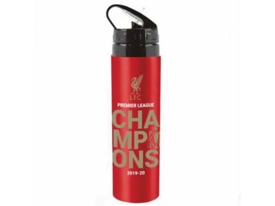 Liverpool FC Premier League Champions Aluminium Drinks Bottle