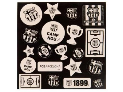 FC Barcelona Glow in the Dark Stickers