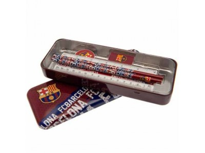 FC Barcelona Stationery Tin Set