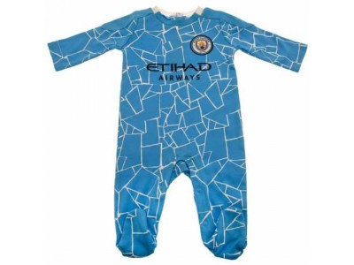 Manchester City FC Sleepsuit 9/12 Months