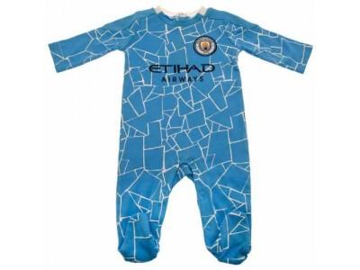 Manchester City FC Sleepsuit 0/3 Months