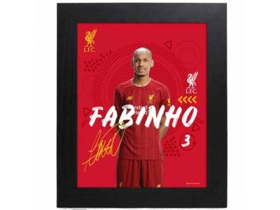 Liverpool FC Picture Fabinho 10 x 8