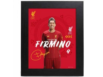Liverpool FC Picture Firmino 10 x 8