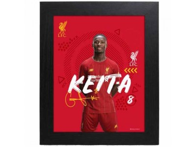 Liverpool FC Picture Keita 10 x 8