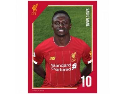 Liverpool FC Headshot Photo Mane