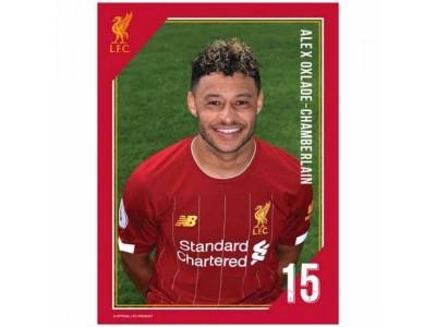 Liverpool FC Headshot Photo Oxlade-Chamberlain