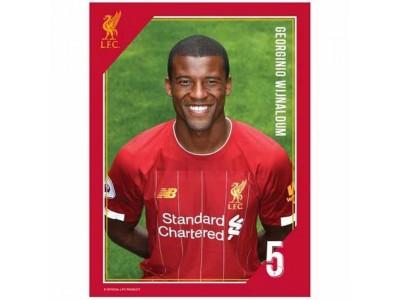 Liverpool FC Headshot Photo Wijnaldum
