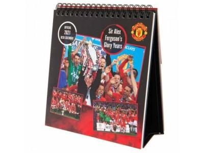 Manchester United FC Desktop Calendar 2021