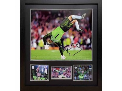 Manchester United FC Schmeichel Signed Framed Print