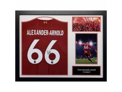 Liverpool FC Alexander-Arnold Signed Shirt (Framed)