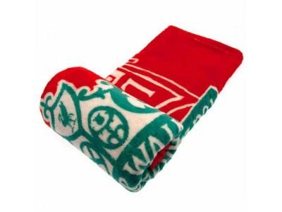 Liverpool FC Fleece Blanket YNWA