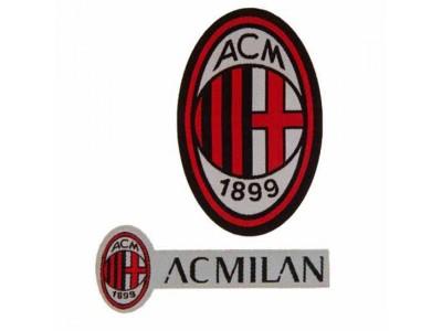 AC Milan Twin Patch Set