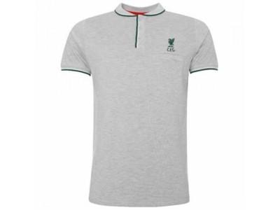 Liverpool FC Birdseye Polo Mens Grey L