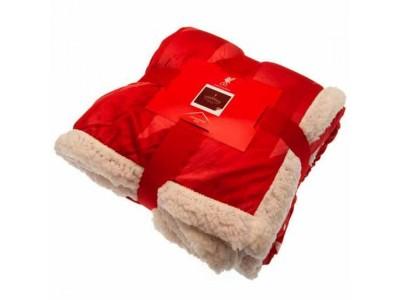 Liverpool FC Sherpa Fleece Blanket