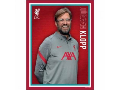 Liverpool FC Headshot Klopp