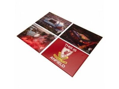 Liverpool FC 4 Pack Fridge Magnet Set