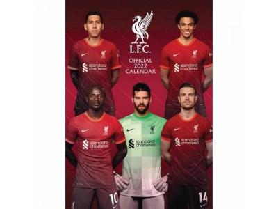 Liverpool FC Calendar 2022