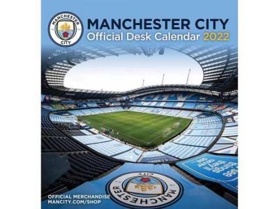 Manchester City FC Desktop Calendar 2022