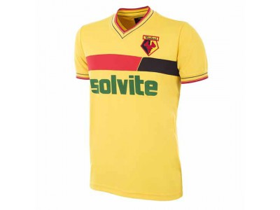 Watford FC 1986 - 87 Retro Football Shirt