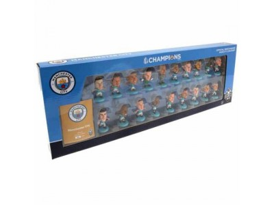 Manchester City FC SoccerStarz Premier League Champions Team Pack