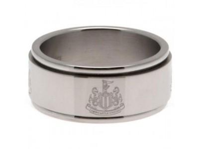 Newcastle United FC Spinner Ring Medium