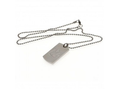 Newcastle United FC Engraved Dog Tag & Chain