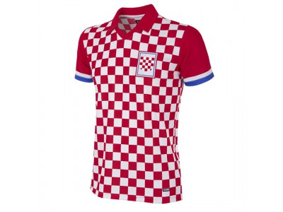 Croatia 1992 Short Sleeve Retro Football Shirt