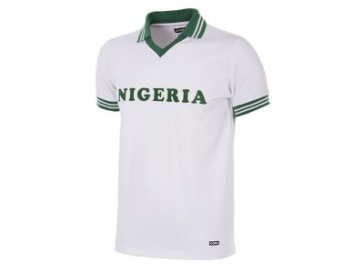 Nigeria 1980 Short Sleeve Retro Football Shirt