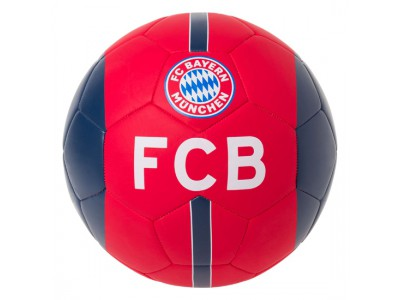 FC Bayern Munich Soccer Ball Red-Navy