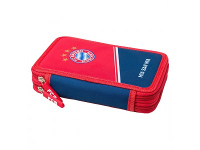 FC Bayern Munich Pencil Case - filled