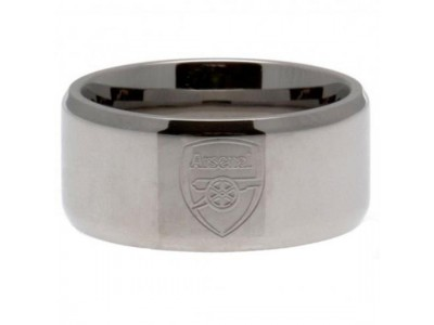 Arsenal FC Band Ring Large