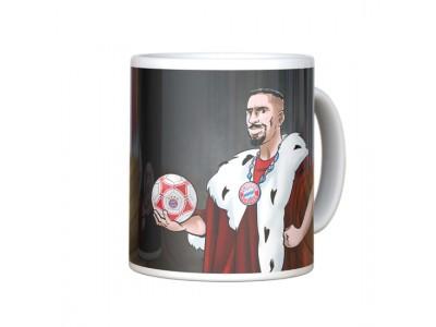 FC Bayern Munchen Mug Franck Ribery