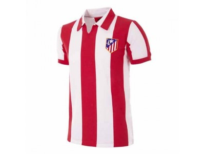 Atletico Madrid 1970/71 Retro Football Shirt - by Copa