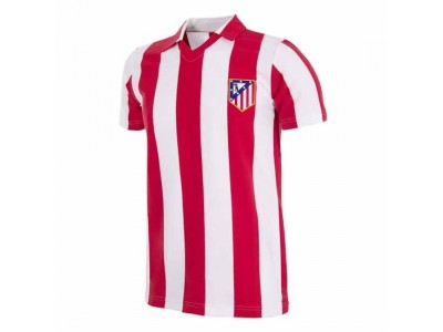 Atletico Madrid 1985/86 Retro Football Shirt - by Copa