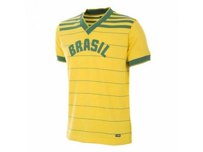 Brazil 1984 Retro Football Shirt