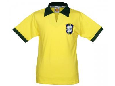 Brazil 1958 World Cup Retro Jersey